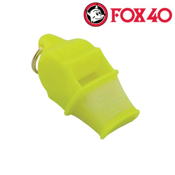 FOX40(금우) SONIK BLAST CMG 줄포함-네온옐로우