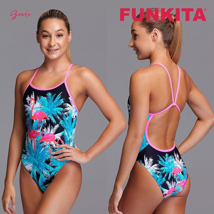 FS16G71219-Flamingo Night 펑키타 FUNKITA 원피스 탄탄이 수영복