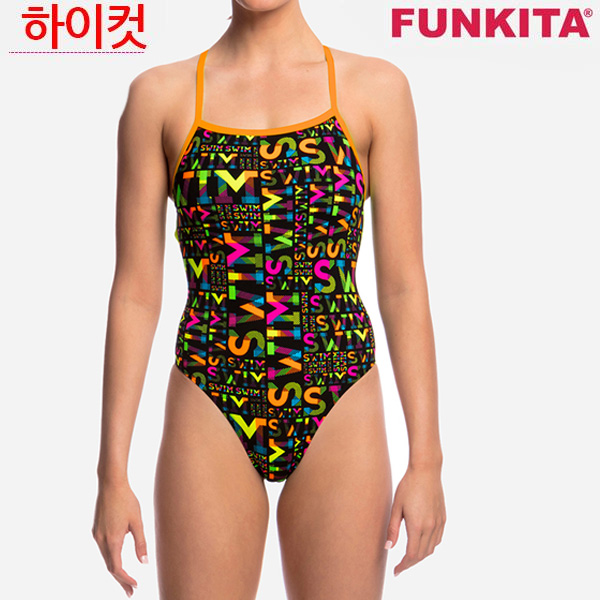 FS38G01778-Night Swim 펑키타 탄탄이 원피스 수영복
