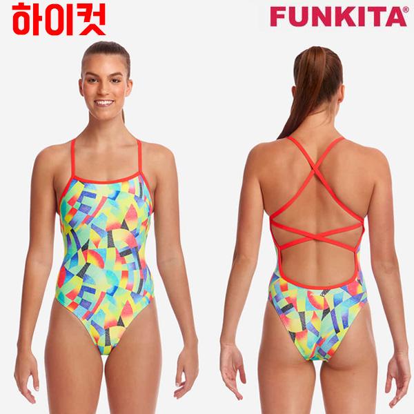 FS38G02526-Point Break 펑키타 FUNKITA 탄탄이 원피스 수영복