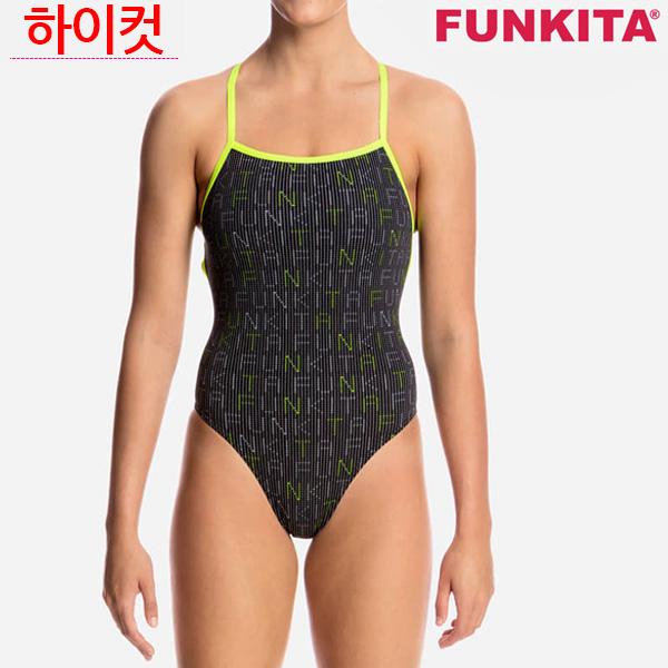 FS38G01642-Binary Babe 펑키타 원피스 탄탄이 수영복