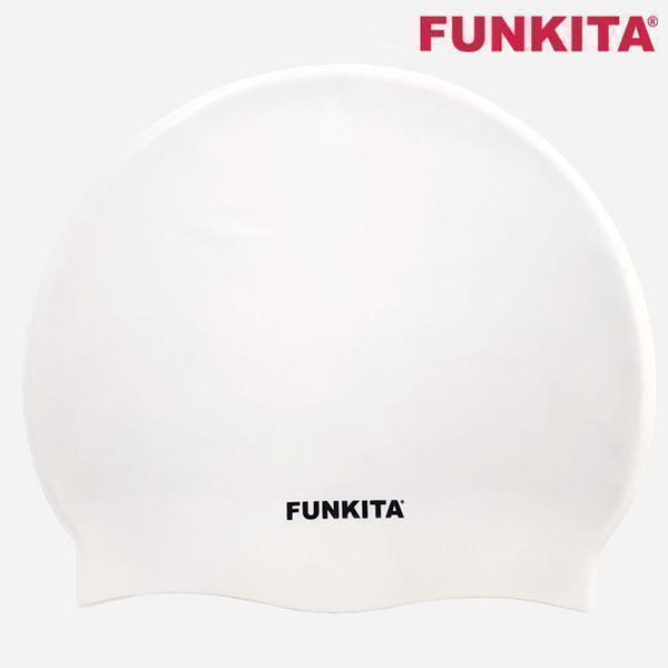 FS990039200-STILL WHITE 펑키타 실리콘 수모 수영모