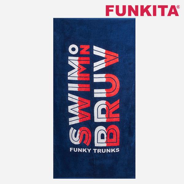 FT9002721-Swim on Bruv 펑키타 건식타올 수영용품