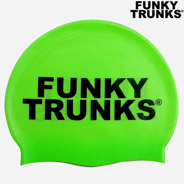FT9900852-Plain Green 펑키트렁크 실리콘 수모