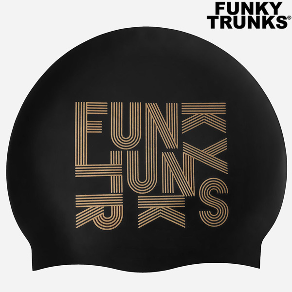 FT9970835-Gold Lines 펑키트렁크 실리콘 수모