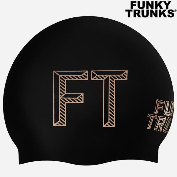 FTG013N02674-Stencilled Black 펑키트렁크 실리콘 수모
