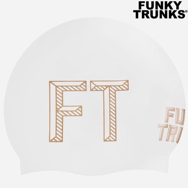FTG013N70902-Stencilled White 펑키트렁크 실리콘 수모