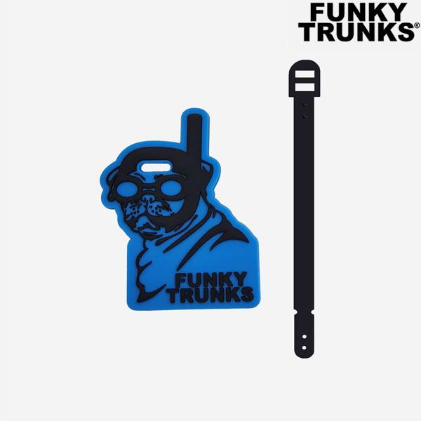 FTP023N02547-Snorkel Pug 펑키트렁크 액세서리 캐릭터태그