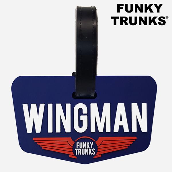 FTP023N02608-Character Tag-Wingman 펑키트렁크 액세서리 캐릭터태그