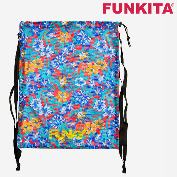 FYG010N02303-Aloha from Hawaii 펑키타 메쉬 장비 가방 수영용품