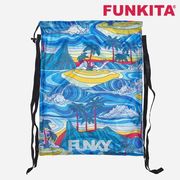 FYG010N02675-Summer Bay 펑키타 메쉬 장비 가방 수영용품