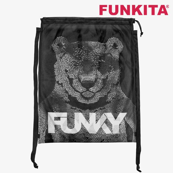 FYG010N71030-Bear Bum 펑키타 메쉬 장비가방