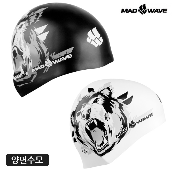 GRIZZLY reversible (BLACK) MAD WAVE 실리콘 양면 수모