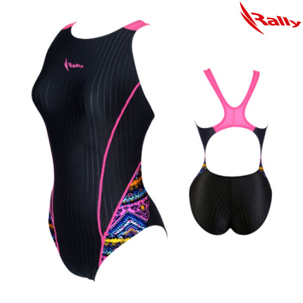 HSLA754-PNK 랠리 RALLY 여성 원피스 수영복