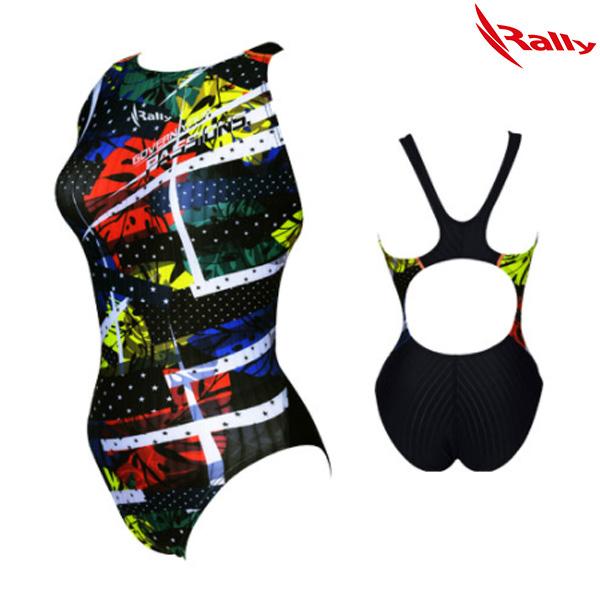 HSLA757-MLT 랠리 RALLY 여성 원피스 수영복