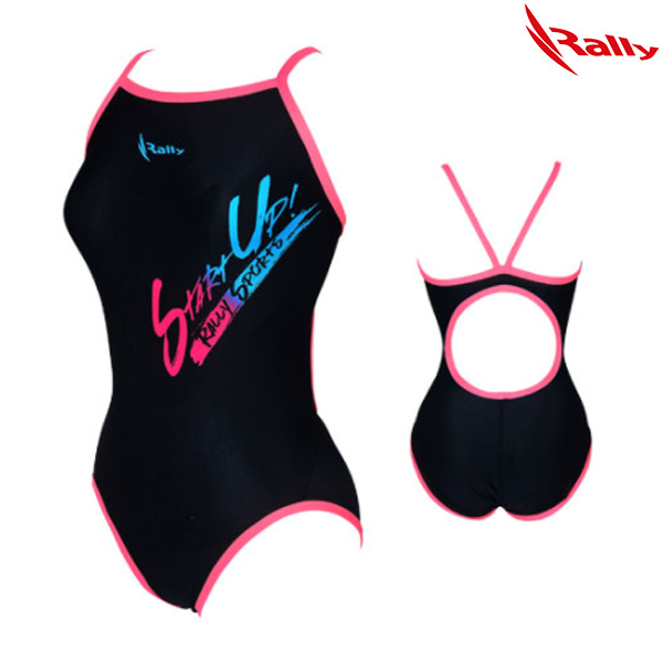 HSLA758-PNK 랠리 RALLY 여성 탄탄이 원피스 수영복