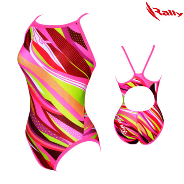 HSLA759-PNK 랠리 RALLY 여성 탄탄이 원피스 수영복