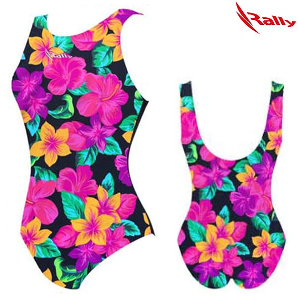 HSLA772-MUT 랠리 RALLY 일반 원피스 수영복
