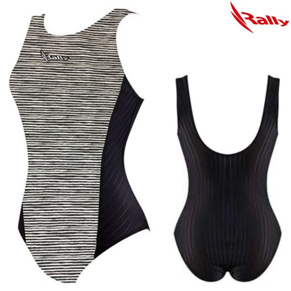 HSLA775-BLK 랠리 RALLY 일반 원피스 수영복