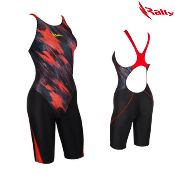HSLH750-RED 랠리 RALLY 여성 반전신 수영복