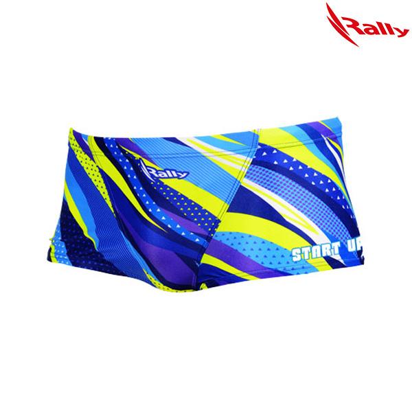 HSMR767-BLU 랠리 RALLY 남성 탄탄이 숏사각 수영복
