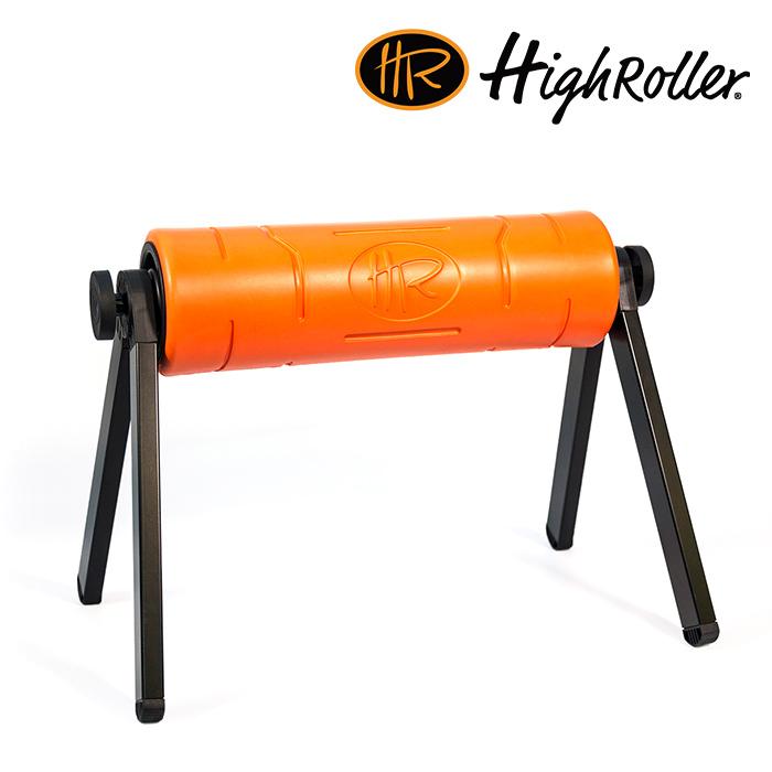 하이롤러-ORANGE-폼롤러_코어바디_필라테스_헬스_스트레칭_코어근육 HighRoller