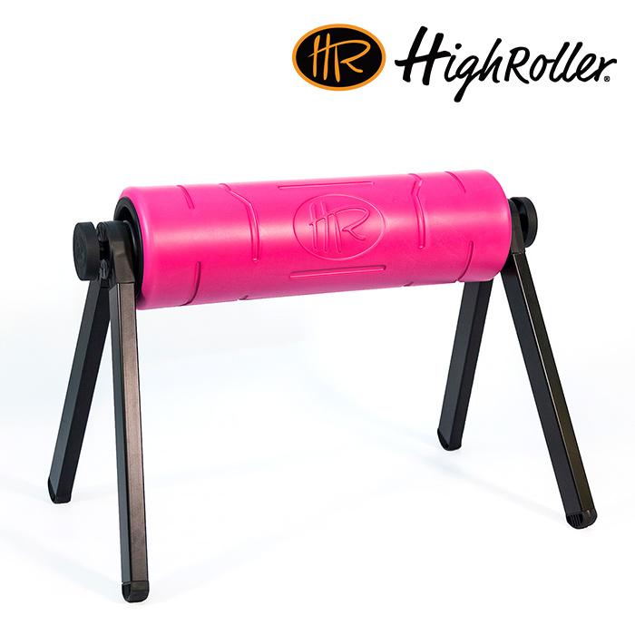 하이롤러-PINK-폼롤러_코어바디_필라테스_헬스_스트레칭_코어근육 HighRoller