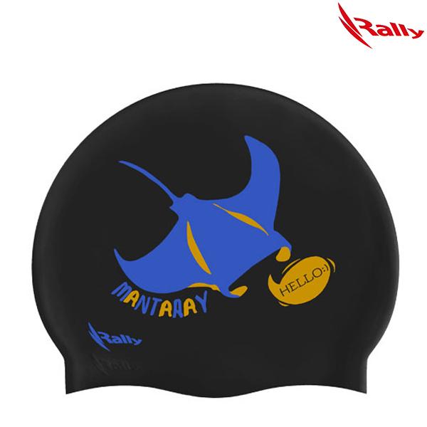 IRUC071-BLK 랠리 RALLY 실리콘 수모 수영모