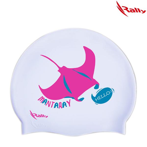 IRUC071-WHT 랠리 RALLY 실리콘 수모 수영모