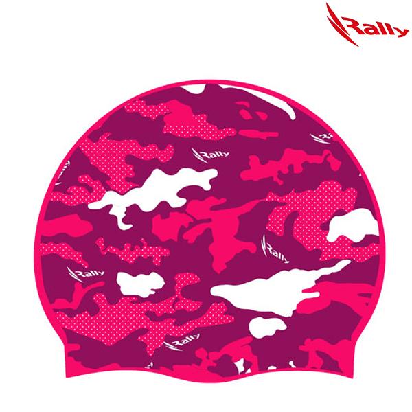 IRUC074-PNK 랠리 RALLY 실리콘 수모 수영모