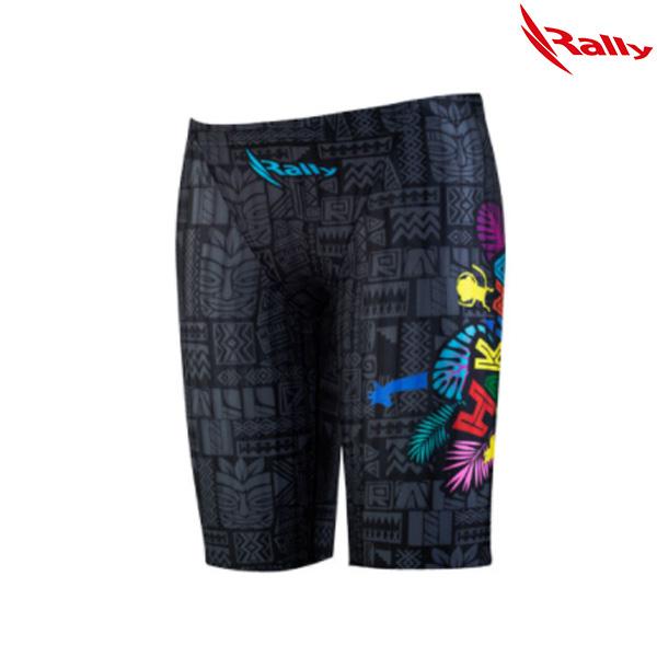 ISBH472-BLK 랠리 RALLY 남아동 5부 수영복