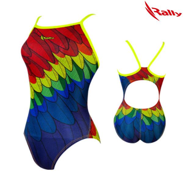 ISLA825-MLT 랠리 RALLY 여성 탄탄이 원피스 수영복