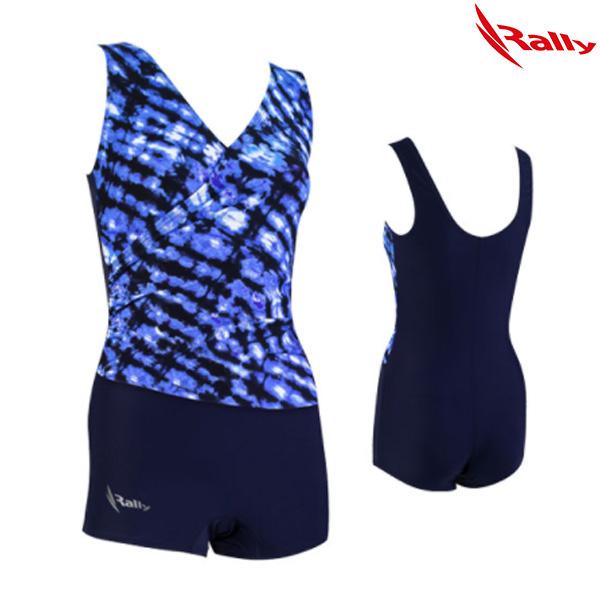 ISLH387-NVY 랠리 RALLY 아쿠아로빅 수영복
