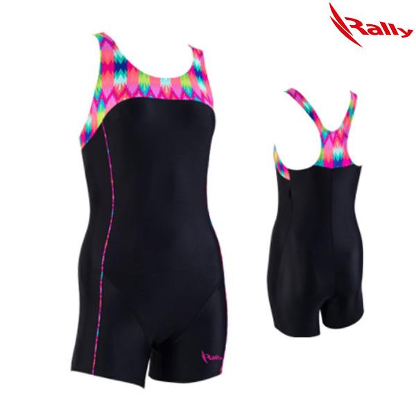 ISLH392-BLK 랠리 RALLY 아쿠아로빅 수영복