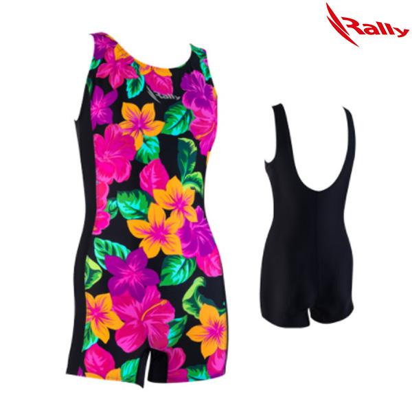 ISLH394-BLK 랠리 RALLY 아쿠아로빅 수영복