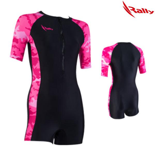ISLH397-BLK 랠리 RALLY 아쿠아로빅 수영복