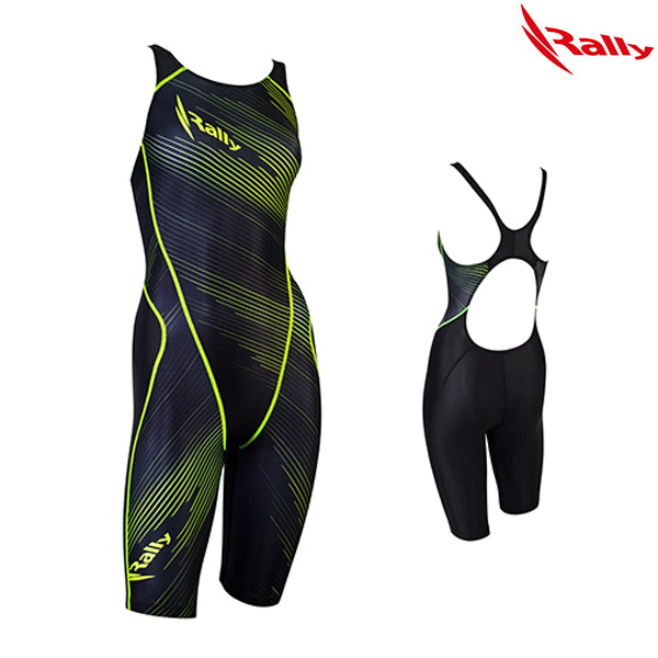ISLH793-NGN 랠리 RALLY 여성 반전신 수영복
