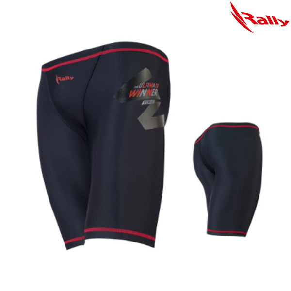 ISMH836-RED 랠리 RALLY 남성 5부 수영복