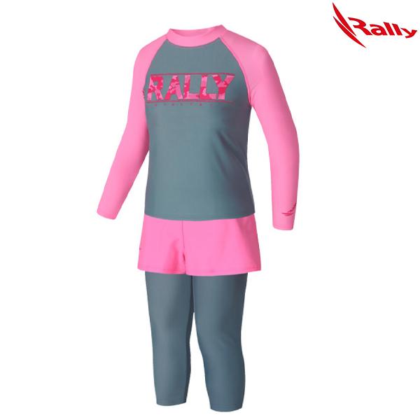 IWGO647-GRY 랠리 RALLY 래쉬가드 여아동세트