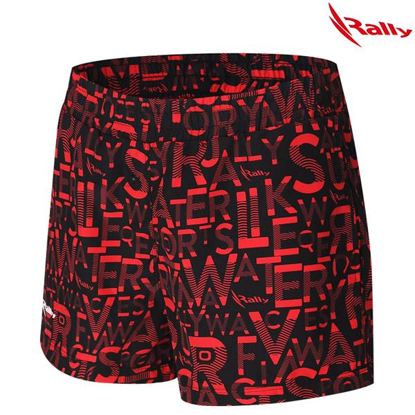 IWLW486-RED 랠리 RALLY 여성트렁크숏바지