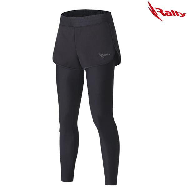 IWLW496-BLK 랠리 RALLY 여성반바지레깅스