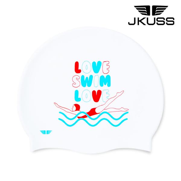 JK-158C-LOVE SWIM LOVE 실리콘 수모
