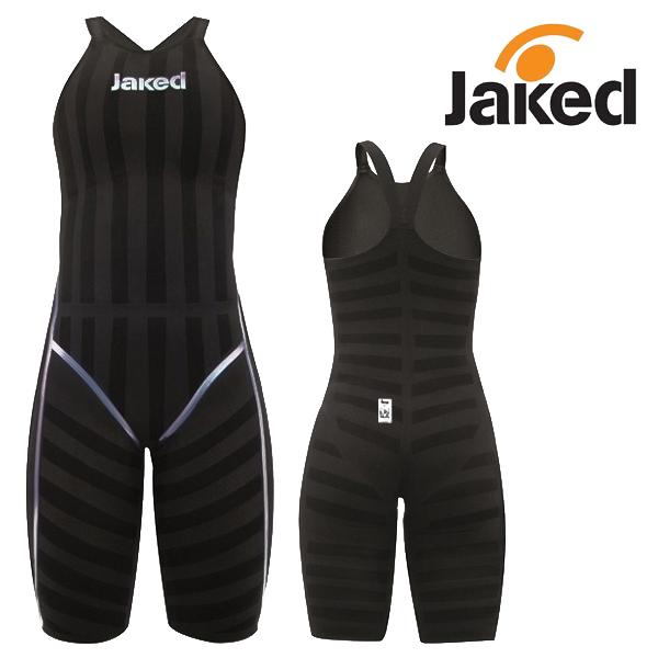 JKOMP FWS-BLACK 제이콤프 여자반전신 클로즈백 선수용 수영복