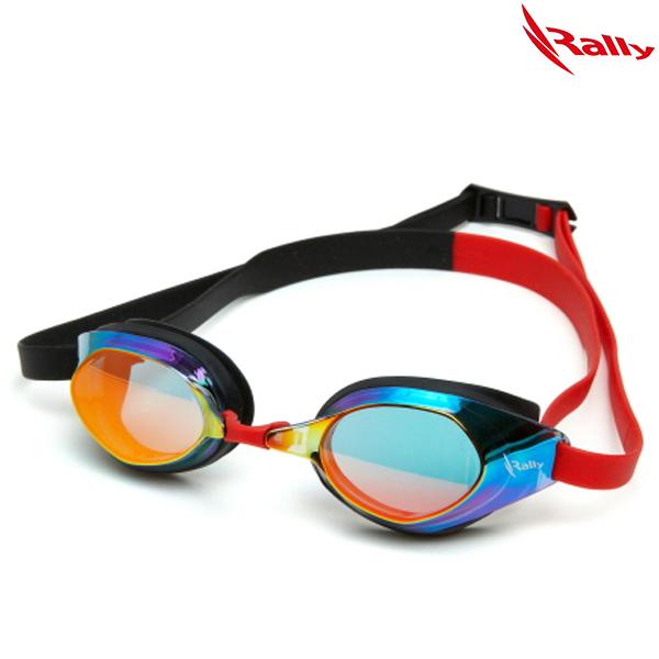 JRUE012MR-BLK 랠리 RALLY 패킹 미러 수경 수영용품