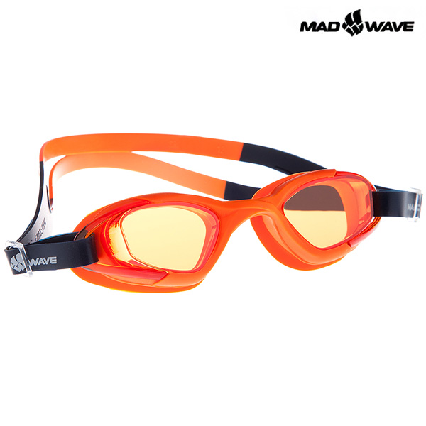 JUNIOR MICRA MULTI II(ORANGE) MAD WAVE 패킹 노미러 수경 주니어