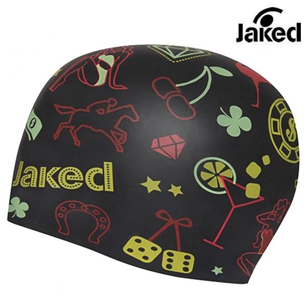 JWSCS11006-BLACK 제이키드 JAKED 실리콘 수모 수영모