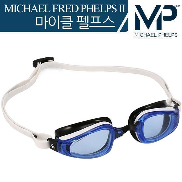 K180 Blue Lens-WHTBLK MP 마이클 펠프스 수경