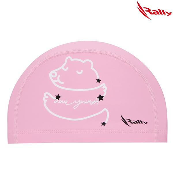 KRKC148-PNK 랠리 RALLY 우레탄 아동 수모 수영모