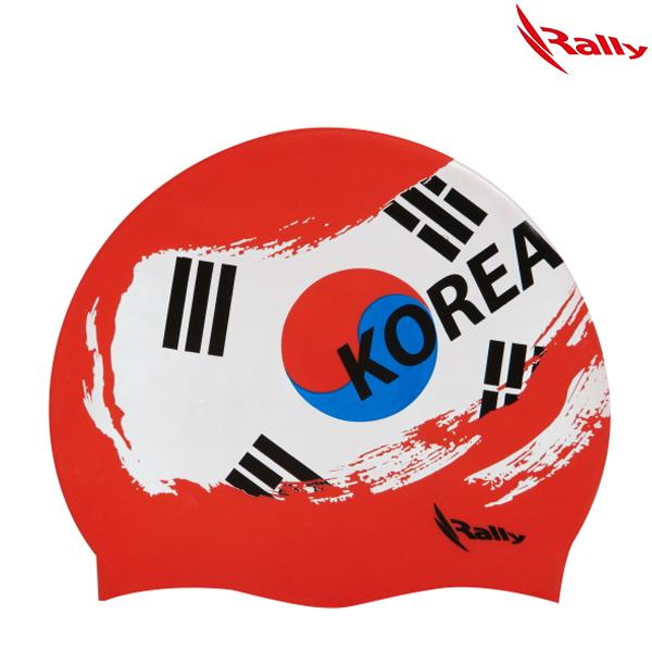 KRUC102-RED 랠리 RALLY 실리콘 수모 수영모