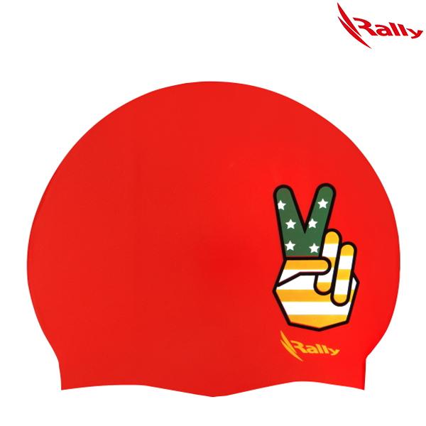 KRUC105-RED 랠리 RALLY 실리콘 수모 수영모